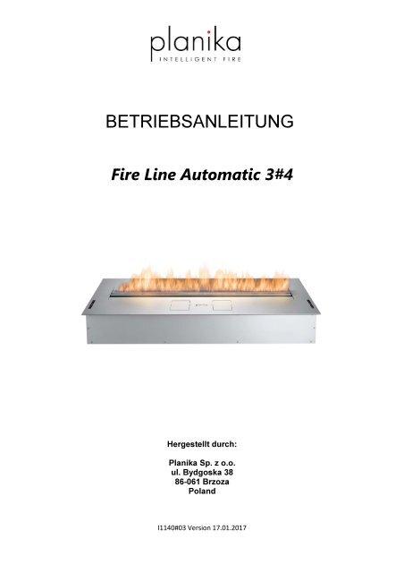 BETRIEBSANLEITUNG FLA3 XL