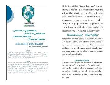 Presentacion Centro Medico Santa Eduviges