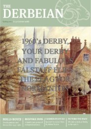 1960'S DERBY, YOUR DERBY AND FABULOUS FALSTAFF FLIES THE THE FLAG FOR NORMANTON