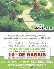 Gazon Montcalm