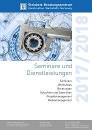 Seminare und Dienstleistungen 2017/2018