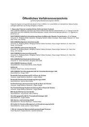 Öffentliches Verfahrensverzeichnis - familienfürsorge
