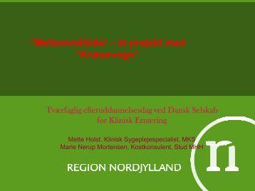 kræsevognen - Dansk Selskab for Klinisk Ernæring