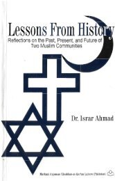 Lessons from history by Dr. Israr Ahmad