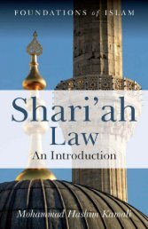 Sharia Law An Introduction - by Mohammad Hashim Kamali