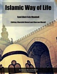 Islamic Way of Life by Syed Abul Aaala Moudodi