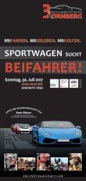 3. Sportwagencharity Nürnberg 2017