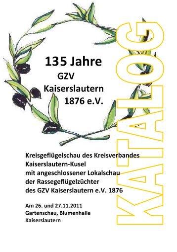 Grußwort des Ausstellungsleiters - Geflügelzuchtverein ...