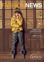 FashionNEWS - Leffers Oldenburg · Treffpunkt Mode