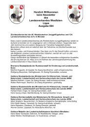 Newsletter 004 - Landesverband Westfalen-Lippe