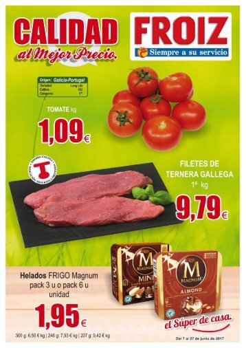 Folleto SUPERMERCADOS FROIZ hasta el 27 de Junio 2017