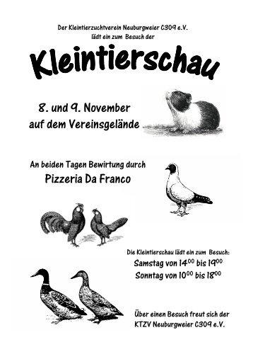 Deutsche Schnabelkuppige Trommler - KTZV Neuburgweier