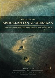 The Life of Abdullah ibn Al-Mubarak