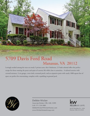 Wicker Homes Group Brochures