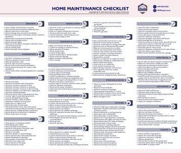 spring home maintenance checklist martha stewart