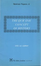 The Quranic Concept of History -  by Syed ALi Ashraf
