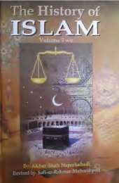 History of Islam Vol 2 of 3 by Akbar Shah Najeebabadi