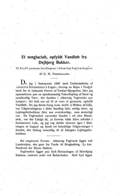 Meddelelser fra Dansk Geologisk Forening Bind 3, Hefte 2, s. 317-330