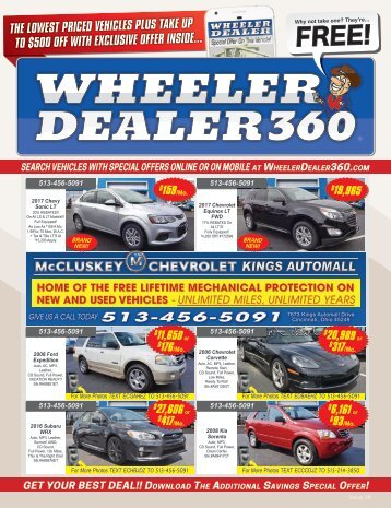 Wheeler Dealer Issue 24, 2017