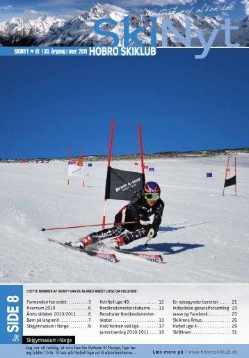 SIDE 8 - Hobro Skiklub