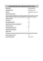 KitchenAid E2BY 19223 X F (TK) - E2BY 19223 X F (TK) EN (F085162) Scheda Prodotto