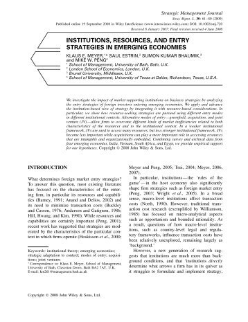 mode of entry in transition economies Determinants of mncs' entry mode  entering transition countries- easter europe, he found that  on determinant factors of entry mode choices in emerging .