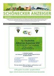 Schönecker Anzeiger Juni 2017