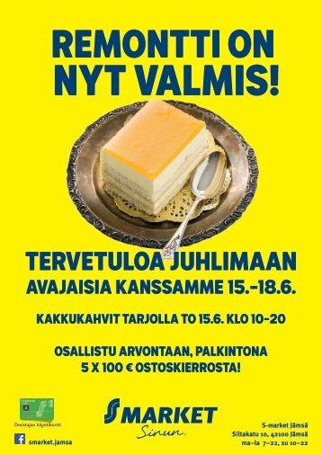 S-market Jämsän remontti on valmis!