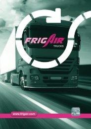 FrigAir Best Seller-Broschüre