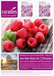 Curadies Apotheken Flyer Leipzig Juni 2017