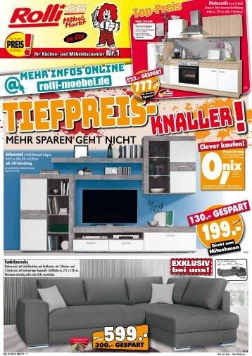 Rolli SB Küchen und  Möbeldiscounter: Tiefpreis-Knaller!