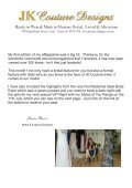 JK Couture Bridal & Evening eMagazine issue 2 - Page 2