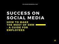 SUCCESS IN SOCIAL MEDIA