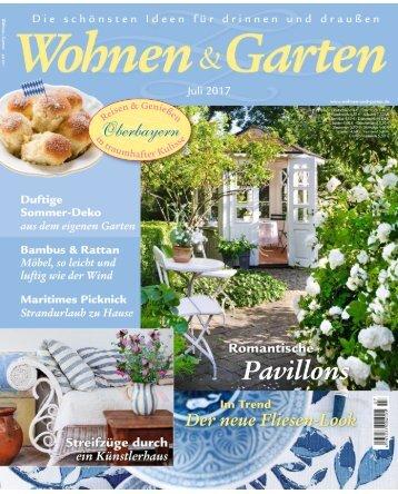 Wohnen & Garten Juli 2017