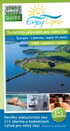 Enjoy Lipno Grenzgenial-Guide