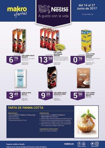 Folleto makro oferta especial Nestle del 14 al 27 de Junio 2017
