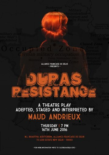 Poster - Duras Resistance