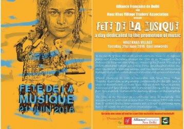 Invite : Fete de la musique 2016