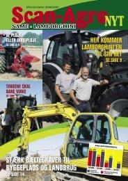 Stærk bæltegraver til byggepladS og landbrug - Scan-Agro