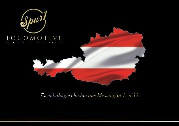 Spur 1 Locomotive Manufactory Austria Prospekt 2017