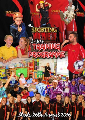 Sporting Marvels 2-Year Training Programme