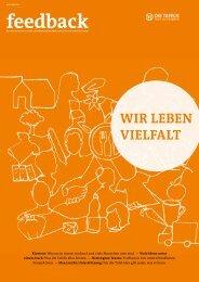 Feedback 2016 - Verbandsmagazin Tafel Deutschland