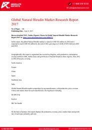 10846151-Global-Natural-Hirudin-Market-Research-Report-2017