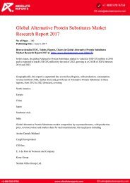 10846355-Global-Alternative-Protein-Substitutes-Market-Research-Report-2017