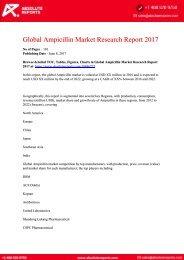 10846277-Global-Ampicillin-Market-Research-Report-2017