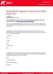 10846454-Global-Blood-Coagulation-Analyzer-Sales-Market-Report-2017