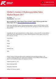 10846424-Global-2-Amino-3-Hydroxypyridine-Sales-Market-Report-2017