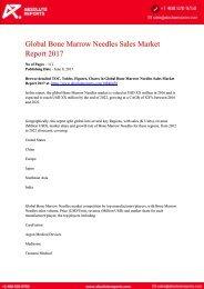 10846458-Global-Bone-Marrow-Needles-Sales-Market-Report-2017