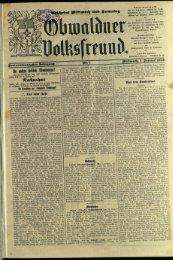 Obwaldner Volksfreund 1923