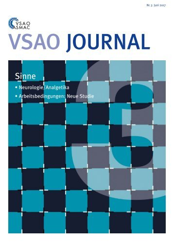 VSAO JOURNAL Nr. 3 - Juni 2017